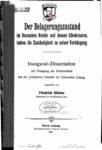 Der Belagerungszustand im deutschen Reiche und dessen Gliedstaaten