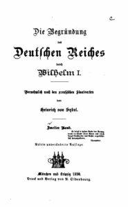 Die Begründung des Deutschen Reiches durch Wilhelm I. – Zweiter Band