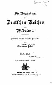 Die Begründung des Deutschen Reiches durch Wilhelm I. – Fünfter Band