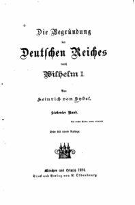 Die Begründung des Deutschen Reiches durch Wilhelm I. – Siebenter Band