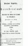 Preußens Ansprüche als Bernsteinland – Das Paradies der Alten und Urland der Menschheit – aus bieblischen, griechischen und lateinischen Schriftstellern gemeinverständlich erwiesen – 1799