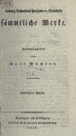 Sämtliche Werke 12. Band – 1837