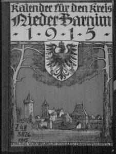 Kalender für den Kreis Niederbarnim – 1915