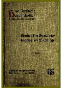 Band 287 – Der Gemeindebeamte.