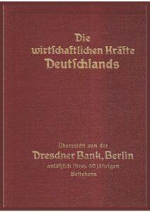 Die wirtschaftlichen Kräfte Deutschlands