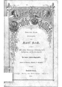 Deutsche Schulfibel – Zweiter Teil