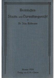 Bremisches Staats- und Verwaltungsrecht