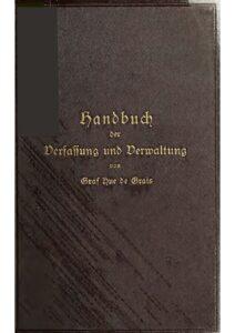 Handbuch zur Verfassung und Verwaltung in Preußen und dem Deutschen Reiche